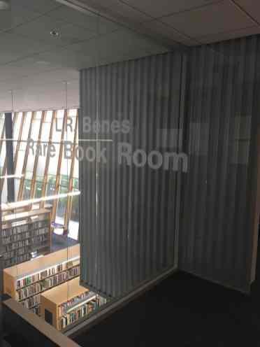Rare Book Room at UA Poetry Center