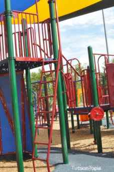 colorful playground at McDonald Park