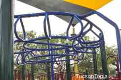 monkey bars at McDonald Park