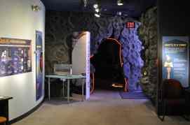 Inside Flandrau Science Center and Planetarium