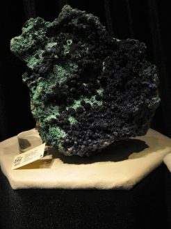 azurite at Flandrau Science Center and Planetarium