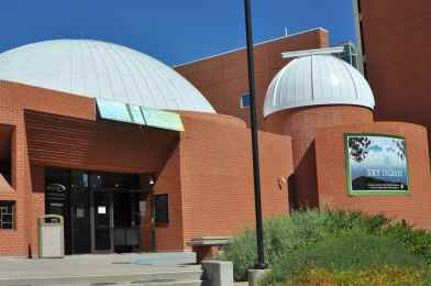 entrance to Flandrau Science Center and Planetarium