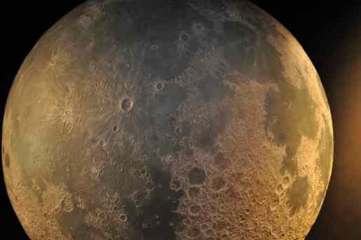 moon at Flandrau Science Center and Planetarium