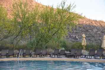 serene pool at Ritz-Carlton Dove Mountain