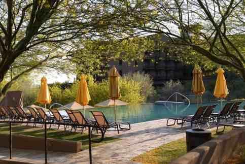 swimming pool at Ritz-Carlton Dove Mountain