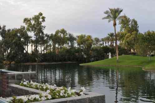 view from casita at Hyatt Regency Scottsdale