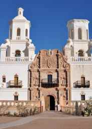 Mission San Xavier del Bac - the white dove in the desert