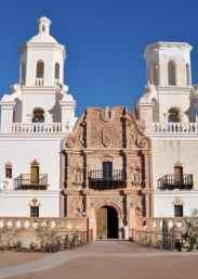 Mission San Xavier del Bac - the white dove in the desert