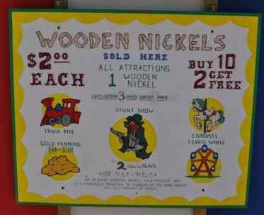 Rides are $2 each at Pollyanna Park