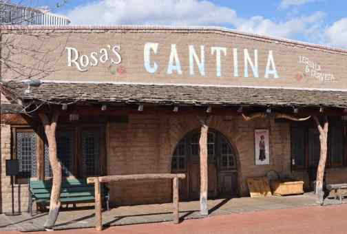 Rosa's Cantina at Trail Dust Town