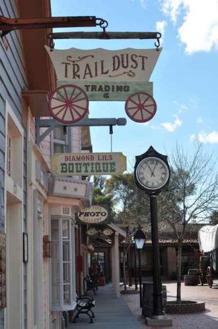Trail Dust Town shops