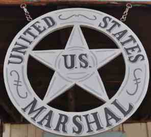 United States Marshal at Trail Dust Town