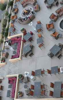 outdoor seating at JW Marriott Tucson Starr Pass