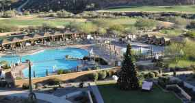 pools at JW Marriott Tucson Starr Pass