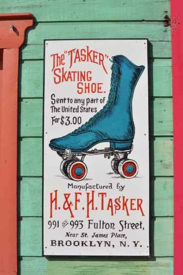 roller skates at Trail Dust Town