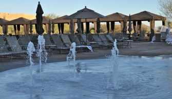 splash area at JW Marriott Tucson Starr Pass