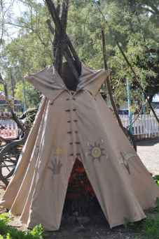 teepee at Trail Dust Town