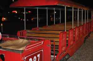 train seats at Trail Dust Town