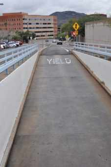 Yield in Downtown Tucson