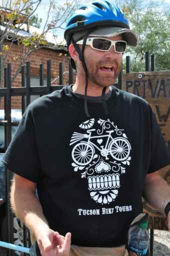 Tucson Bike Tours Owner Jimmy Bultman