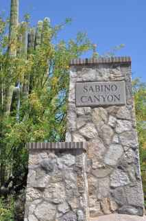 Sabino Canyon in Tucson AZ