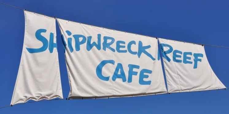 Shipwreck Reef Cafe at SeaWorld San Diego
