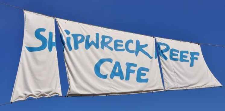 Shipwreck Reef Cafe at SeaWorld San Diego