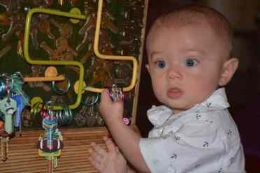 Baby at Children's Museum Oro Valley