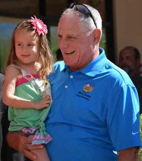 Councilmember Mike Zinken at Children's Museum Oro Valley