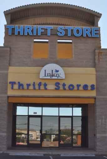 InJoy Thrift Store Entrance