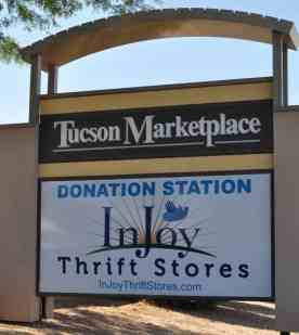 InJoy Thrift Store in Tucson Marketplace