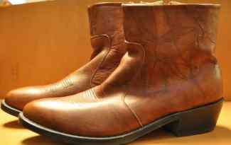 Men's Leather Boots at InJoy Thrift Store