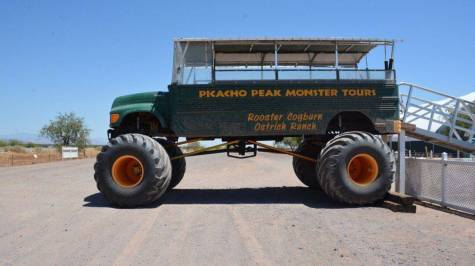 Picacho Peak Monster Tours at Rooster Cogburn