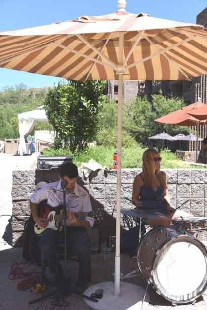live music at Blues Brews BBQ at Loews Ventana Canyon