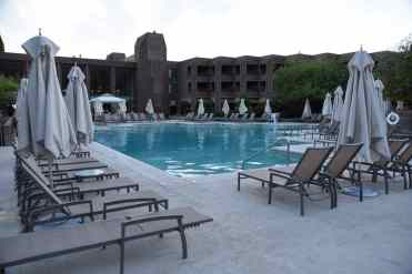 main swimming pool at Loews Ventana Canyon Resort