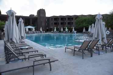 main swimming pool at Loews Ventana Canyon Resort