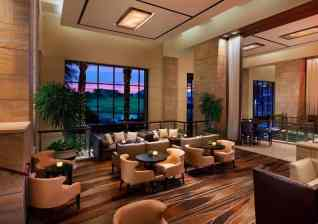 The Westin Kierland Resort - Lobby at Dusk