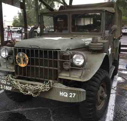 US Army Vehicle at Museum of the Horse Soldier