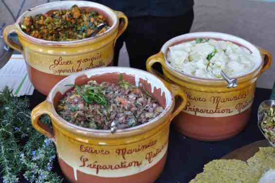 dips and salsas at Savor Food & Wine Festival