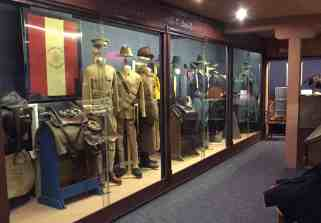 displays at Museum of the Horse Soldier