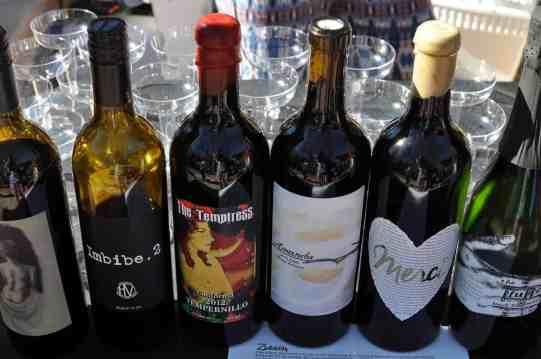 red wine at Savor Food & Wine Festival