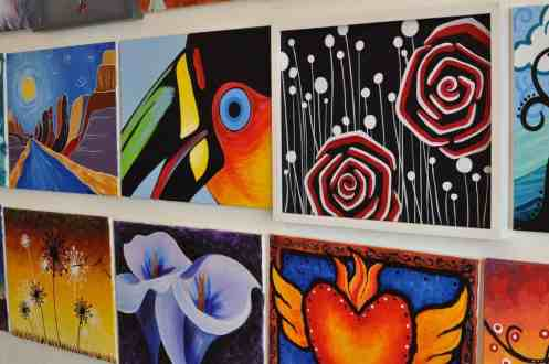 Creative-Juice-Art-Bar-paintings