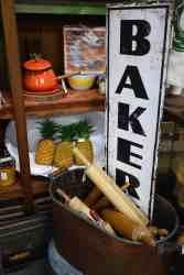 bakery sign at Midtown Mercantile Merchants