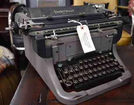 vintage typewriter Tucson