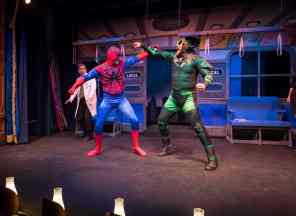Spider Guy at The Gaslight Theatre