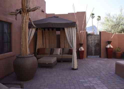 Adults-Only Saguaro Serenity Courtyard at White Stallion Ranch