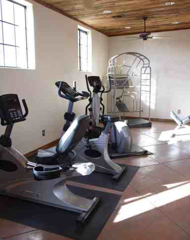 Fitness Center at White Stallion Ranch
