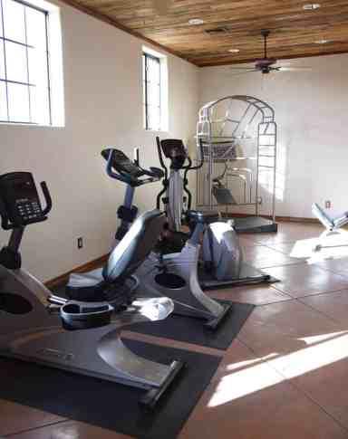 Fitness Center at White Stallion Ranch