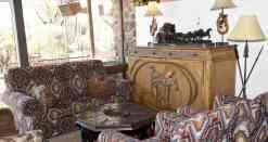 Lobby Seating at White Stallion Ranch