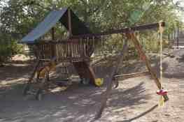 playground at White Stallion Ranch